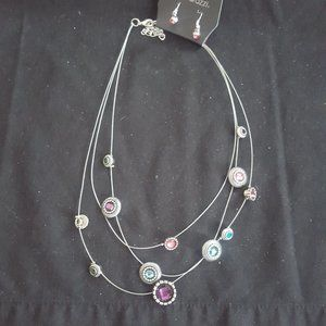 Sheer Thing Paparazzi Exclusive Necklace!!